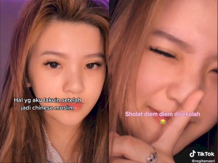 Video Curhatan Cewek Cantik yang Jadi Mualaf, Shalat Diam-diam, Netizen: Semangat Mbak