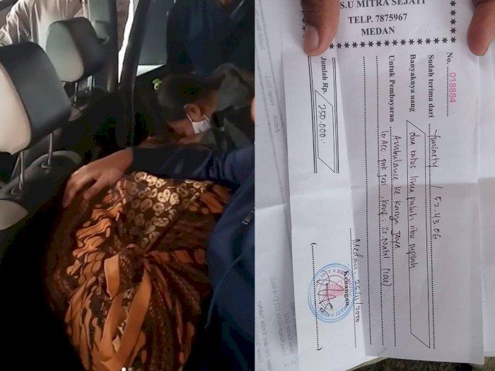 Viral Keluarga di Medan Bawa Jenazah Pakai Taksi Online, Alasannya Sopir Ambulans Tak Ada
