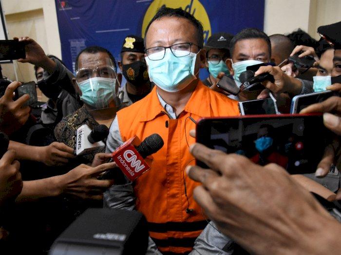 Edhy Prabowo Minta Maaf Kepada Ibu dan Masyarakat yang Terkhianati