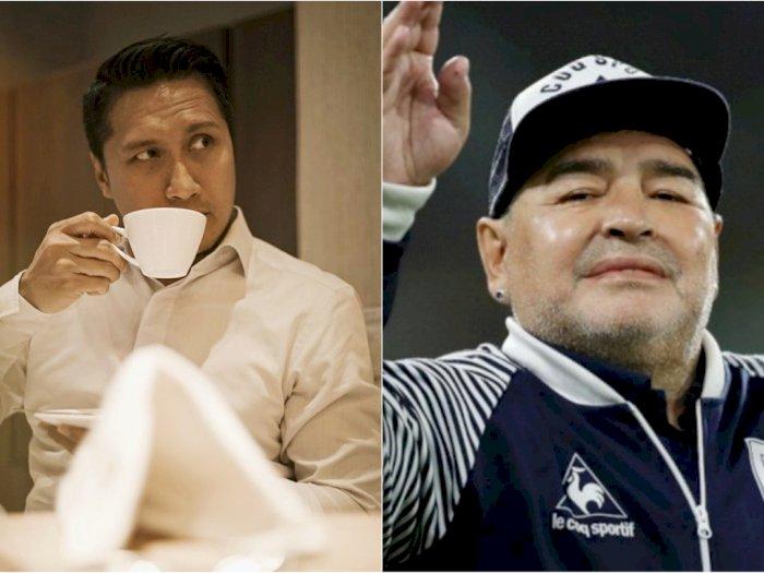 Diego Maradona Meninggal, Arie Untung Kenang Momen saat Sunatan: Dia Legendnya
