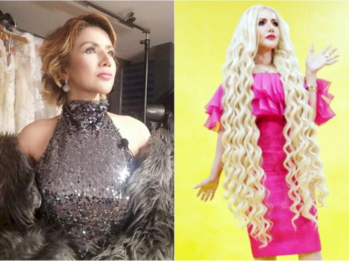 Tampil Manglingi, Gaya Rambut Barbie Kumalasari Bikin Netizen Salfok 'Kayak Mie Goreng'