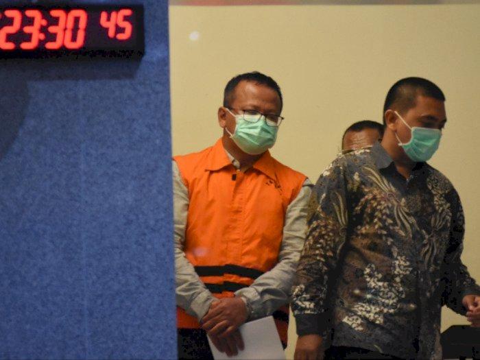 Jadi Tersangka, Edhy Prabowo Ditahan 20 Hari di Rutan KPK