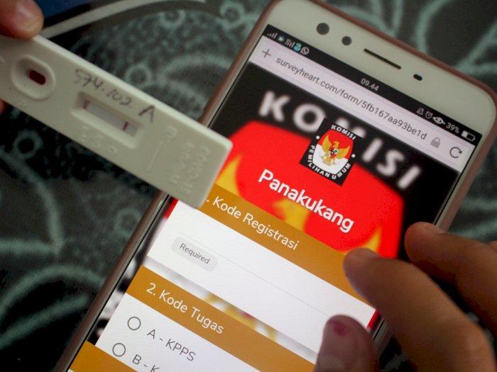 Jelang 9 Desember, Seluruh Pengawas TPS di Pilkada Medan Mulai Jalan Rapid Test