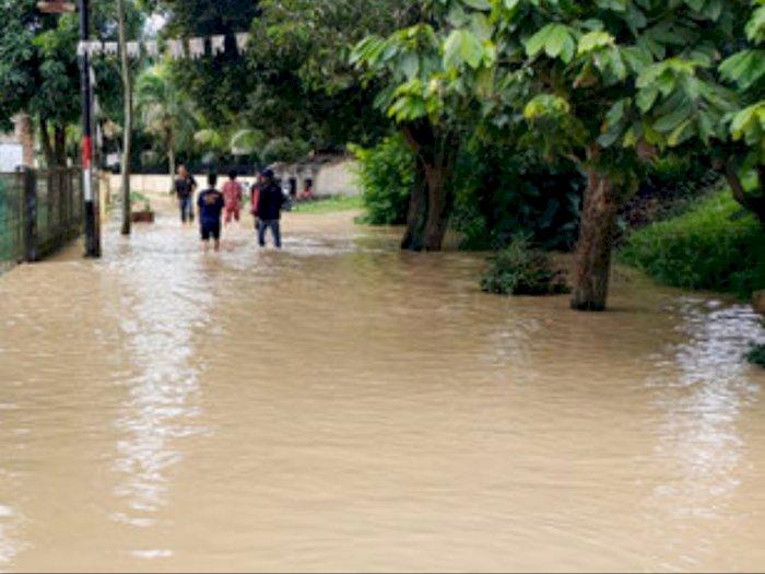 Air Sungai Padang Tebingtinggi Meluap, Ribuan Rumah Terendam