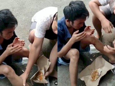 Viral Pencuri Burung Dikasih Makan Nasi Bungkus setelah Sempat Digebukin Warga