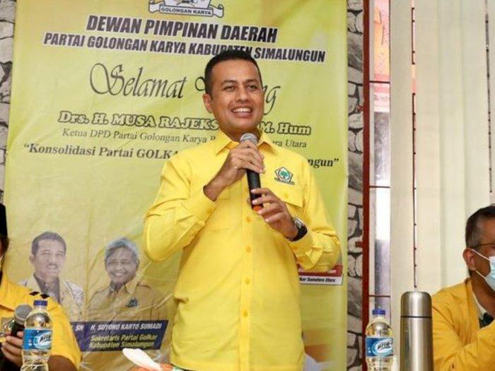 Gigih Ingin Menangkan Bobby di Pilkada Medan, Ijeck Kembali Ambil Cuti Untuk Kampanye