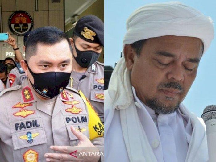 Astaga! Habib Rizieq Masuk Rumah Sakit, Reaksi Polisi Mengejutkan, 'Positif Thinking Saja'