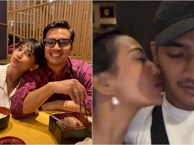 Rindu Berat, Bibi Ardiansyah Unggah Video Dicium Mesra Vanessa Angel: Kangen Mi