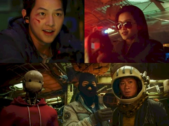 Film 'Space Sweeper' Song Jong Ki Akan Rilis Eksklusif di Netflix