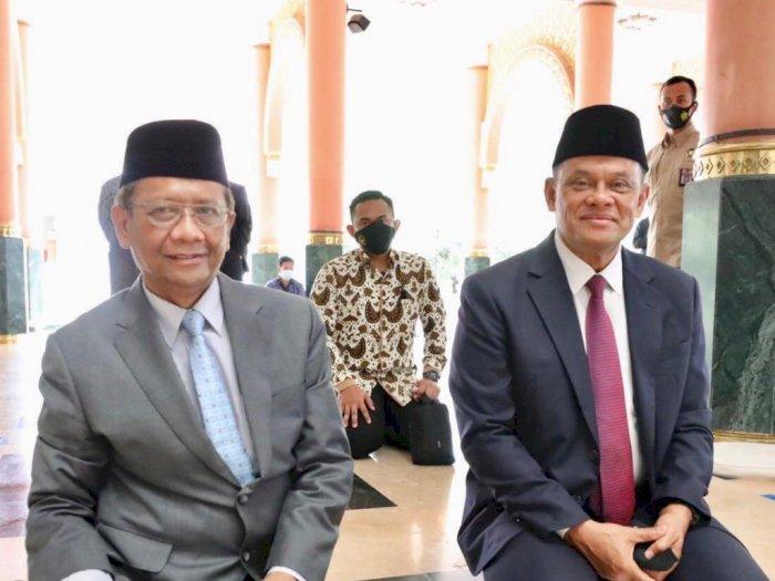 Bertemu Gatot Nurmantyo, Mahfud MD: Ngobrol dari Hati ke Hati