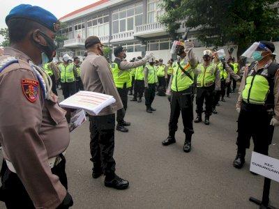 FOTO: Apel Kesiapan Pengamanan Pilkada Surabaya