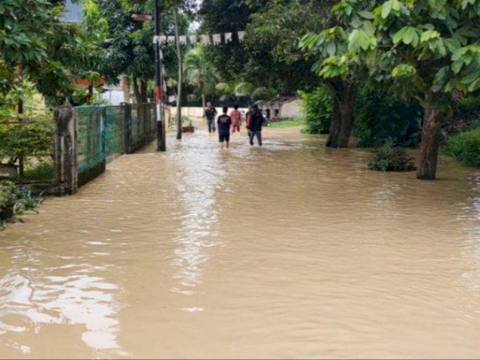 Sungai Padang Meluap, 3.122 Kepala Keluarga di Kota Tebing Tinggi Terdampak Banjir