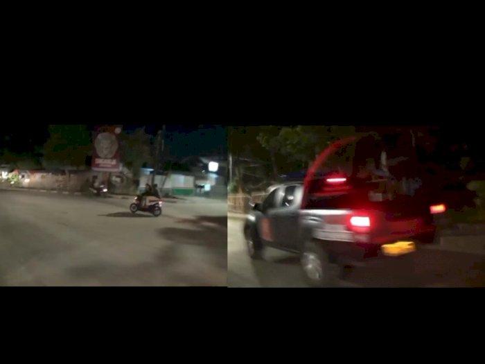Viral Kejar-kejaran Polisi dengan Pimpinan Geng Motor di Jakut, Begini Kronologinya