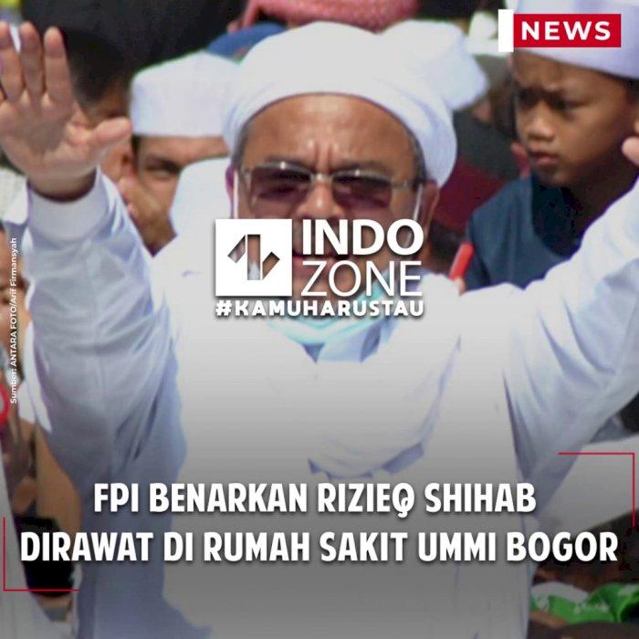 FPI Benarkan Rizieq Shihab Dirawat di Rumah Sakit Ummi Bogor