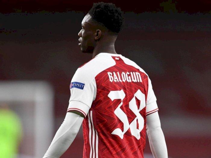 Cetak Gol Ketiga Arsenal Kontra Molde, Folarin Balogun Diklaim Mau Bertahan di Arsenal