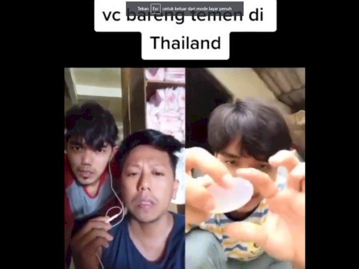 Video Call Orang Indonesia-Thailand Bahas Soal Sabun, Netizen: Ketawanya Nular Banget