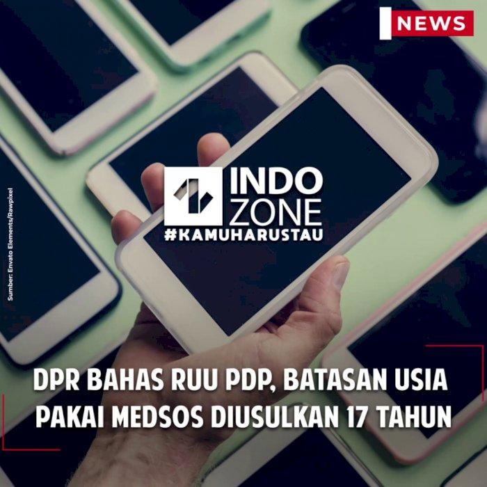 DPR Bahas RUU PDP, Batasan Usia Pakai Medsos Diusulkan 17 Tahun