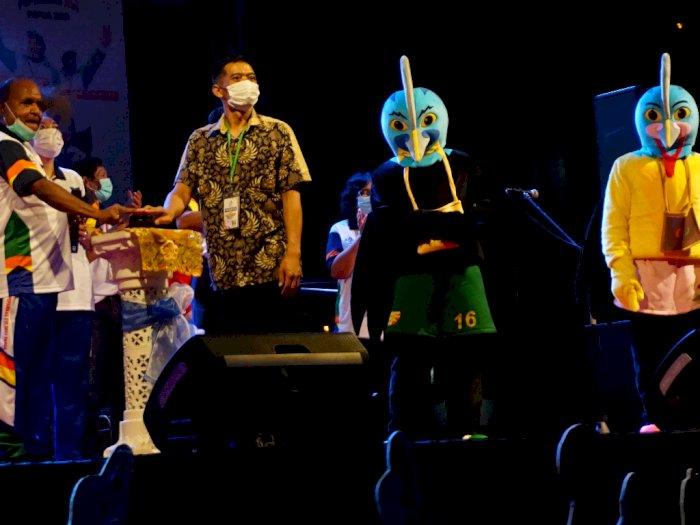FOTO: Peluncuran Logo Peparnas XVI 2021 Papua