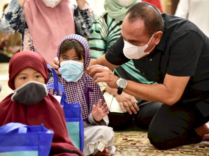 Berkumpul dengan Anak-anak, Gubernur Sumut: Sudah Lama Saya Merindukan Saat Ini