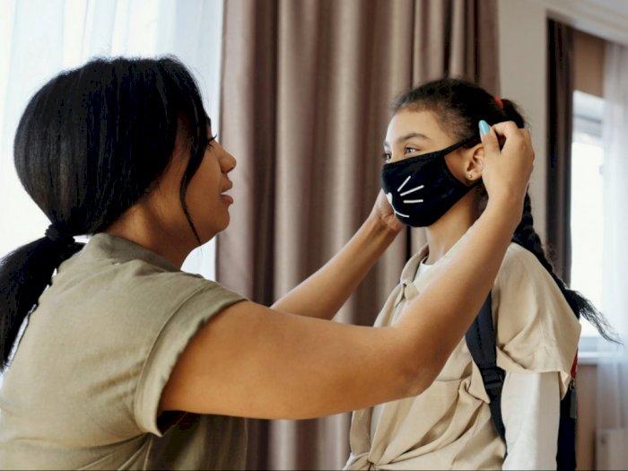 Ini Cara Penggunaan Masker yang Benar pada Anak