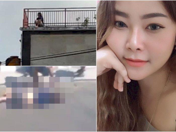 Detik-detik Selebgram Cantik Asal Bali Bunuh Diri dari Lantai 4 Hotel, Tewas Mengenaskan