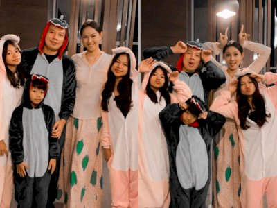 Jalin Asmara, Kedekatan Kalina Ocktaranny dengan Keluarga Kecil Vicky Bikin Netizen Heran