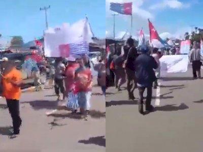 Video Rakyat Papua Rayakan Kemerdekaan, Minta Presiden RI Tanda Tangan dan Akui