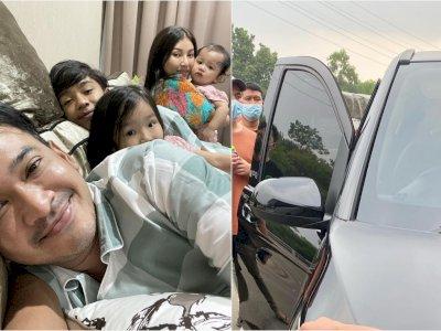 Ruben Onsu Panik Bukan Main saat Mobil Sarwendah Keluarkan Asap, Padahal Masih Baru