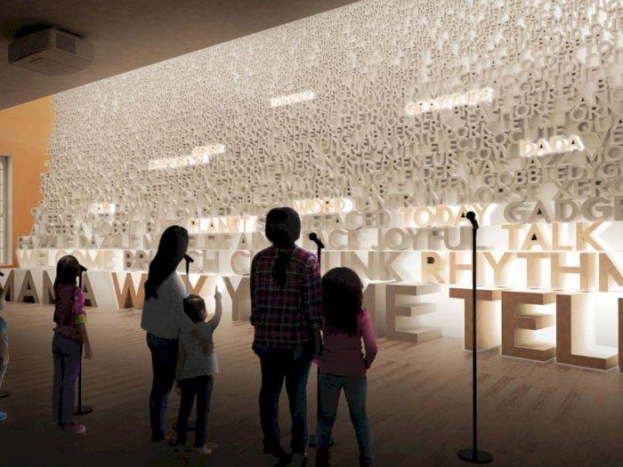 Planet Word, Museum Interaktif di Washington DC yang Didedikasikan untuk Kata dan Bahasa