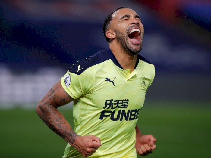 FOTO: Liga Inggris, Newcastle Menang Dramatis 2-0 Kalahkan Crystal Palace