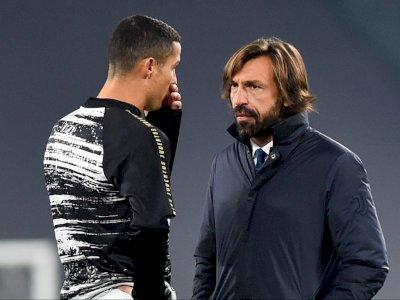 Pirlo Istirahatkan Ronaldo untuk Laga Juventus Kontra Benevento