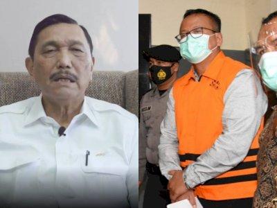 Mengejutkan! Sudah Ditangkap KPK, Luhut Pandjaitan: Pak Edhy Sebenarnya Orang Baik