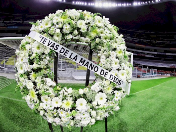 Diego Maradona Dijadikan Nama Liga Sepak Bola Argentina