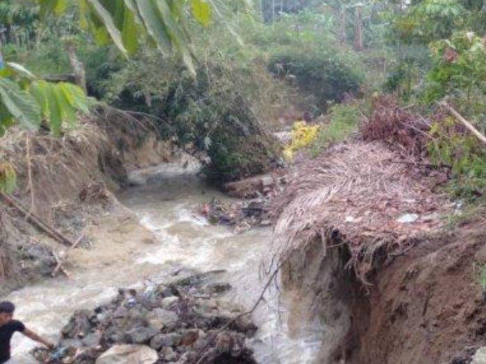 42 Rumah di Simalungun Tertimbun Longsor, Warga Cemas Setiap Kali Hujan