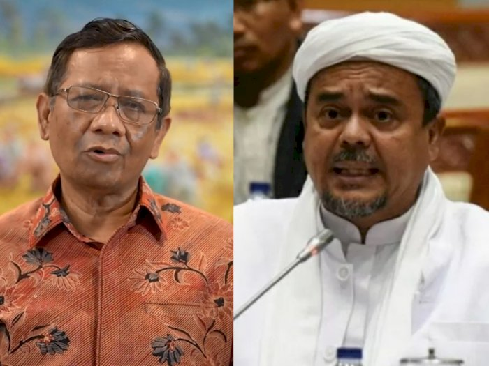Semakin Panas! Mahfud MD Sesalkan Sikap Habib Rizieq, Pemerintah Ancam Beri Tindakan Tegas