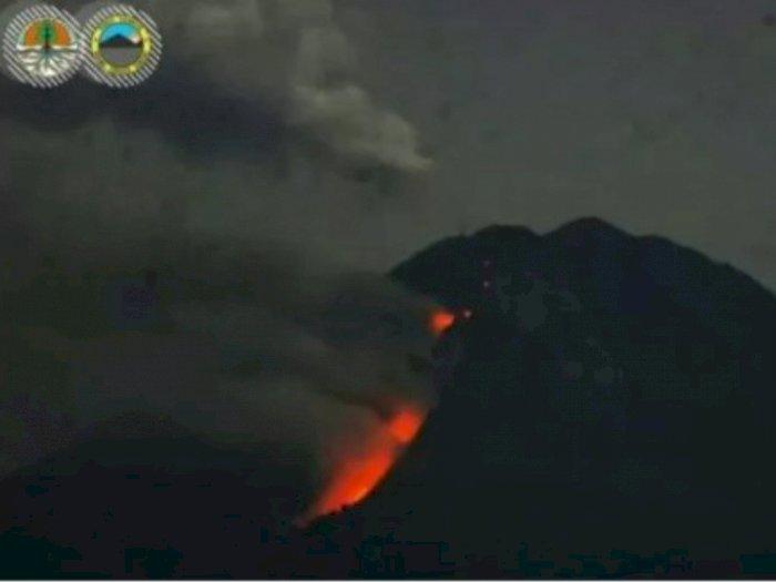 Lagi! Gunung Semeru Muntahkan Lava Pijar, BPBD Imbau Warga Tenang dan Tetap Waspada