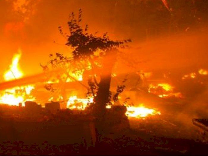Dua Rumah di Pulo Brayan Bengkel Terbakar, Beruntung tak Ada Korban Jiwa