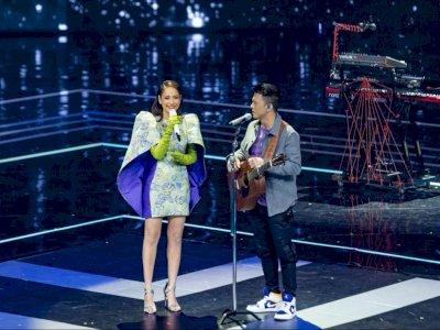Senyum Sumringah BCL saat Satu Panggung Bareng Ariel Noah di AMI Awards 2020