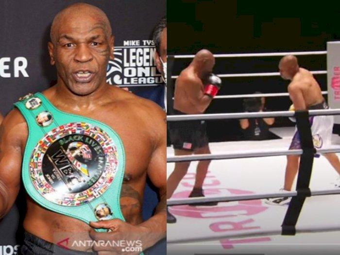 Imbang Lawan Roy Jones Jr, Mike Tyson Janji Naik Ring Lagi, 'InsyaAllah Akan Lebih Baik'