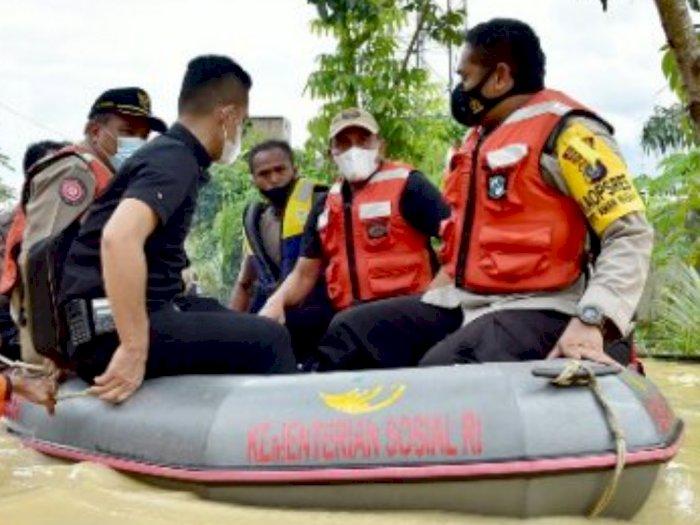 56 Posko Tampung Korban Banjir Tebingtinggi, Warga Diminta Jauhi Sungai
