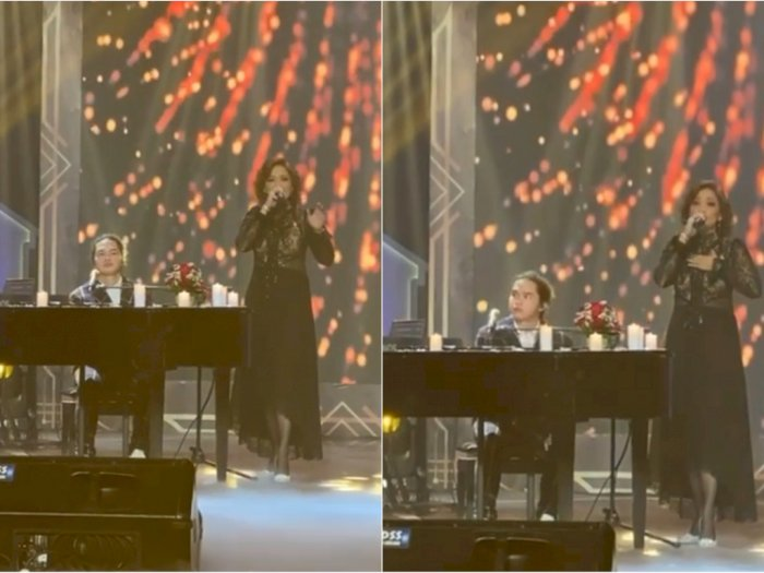 Keluarkan Suara Emasnya di Konser Dul Jaelani, Maia Estianty Bikin Netizen Merinding