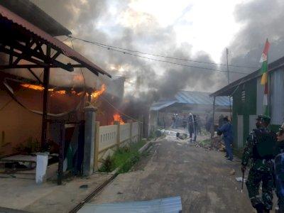 Ricuh di Boven Digoel Papua, Satu Anggota Brimob Terkena Panah