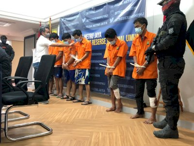 Sindikat Jambret Hp Jakarta Tangerang Ini Diciduk Polisi, Sudah Beraksi Puluhan Kali