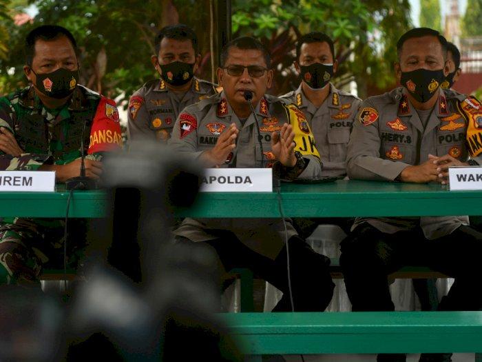 FOTO: Aparat Keamanan Buru Pelaku Pembunuhan Keji di Sigi