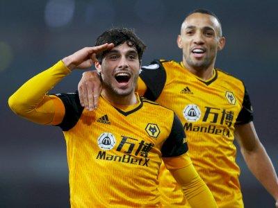 FOTO: Liga Inggris, Arsenal vs Wolverhampton 1-2