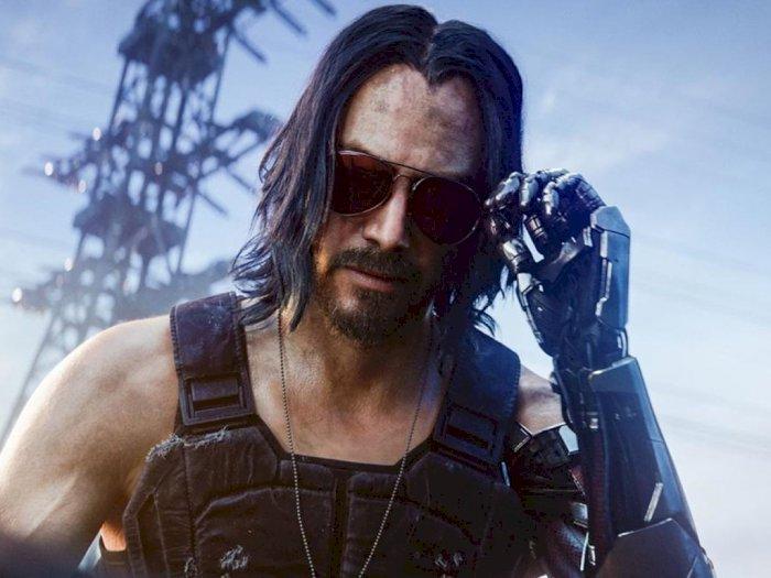CDPR: Keanu Reeves Sudah Main Cyberpunk 2077 dan Ia Sangat Menyukainya