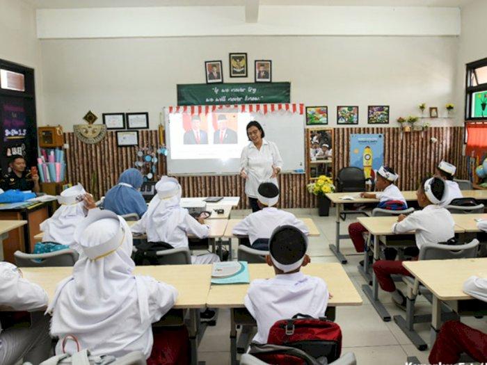 Menkeu Sebut Semangat Belajar Anak Indonesia Bantu Negara Atasi Pandemi