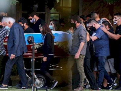 Dokter Pribadi Maradona Diperiksa Polisi Atas Dugaan 'Pembunuhan Tak Disengaja'