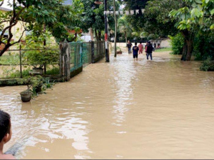 6.663 Rumah Terendam Banjir di Tebingtinggi, 70 Posko Telah Berdiri
