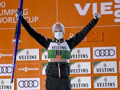 FOTO: Piala Dunia Lompat Ski, Halvor Egner Granerud Juara Untuk Pertama Kalinya